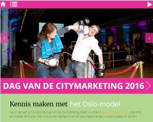 Foto Dag van de Citymarketing 2016